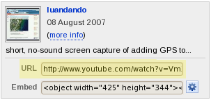 YouTube URL example